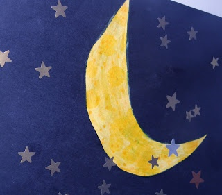 Crescent Moon Craft Day And Night Preschool Theme