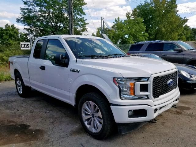 Salvage 2018 Ford F150 Stx Pickup For Sale Salvage Title