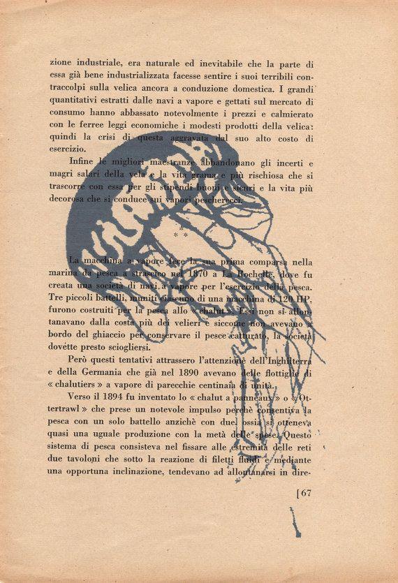Pag. 67 Medusa colore polvere blu di StonesInLove su Etsy
