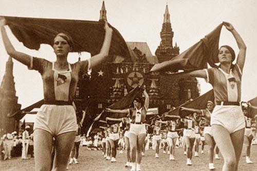 Pre-War Soviet Sports photographs