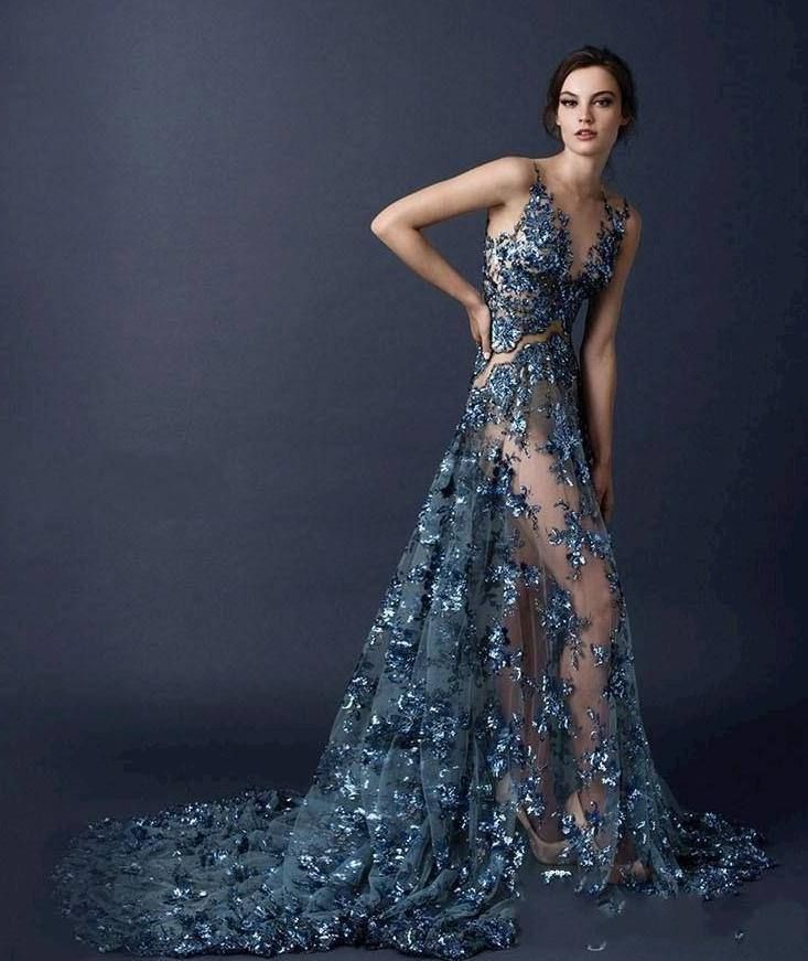6367234eb6d2 I don t normally like the almost completely see-thru look for dresses but  this is exquisite!