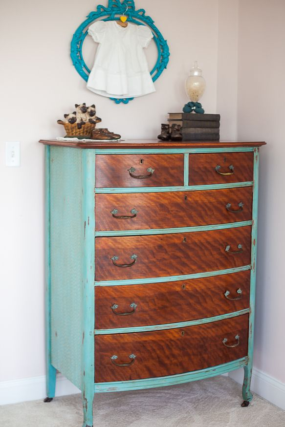 Beautiful hand painted dresser...