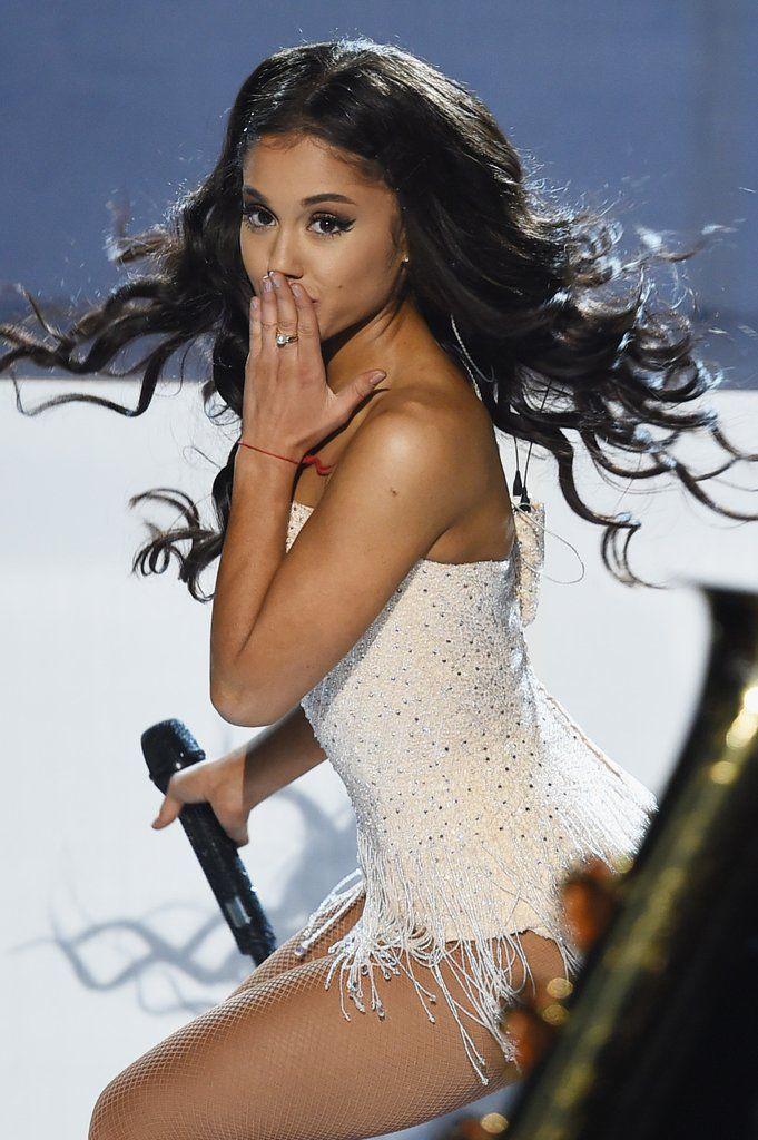 Ariana Grande's Hair at American Music Awards 2015 | POPSUGAR Beauty