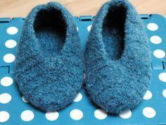 Bennelle: Filzschuhe für ein Baby - mit rutschfester Anleitung