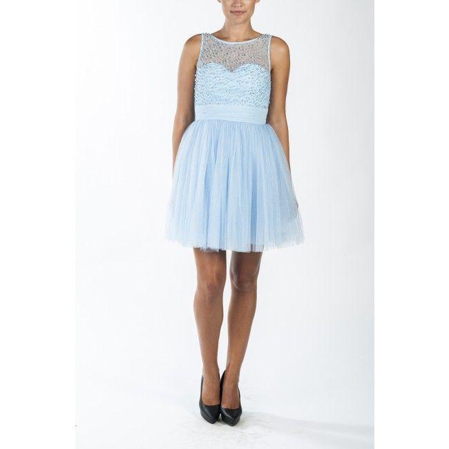 nr 2 baby blue prom dress