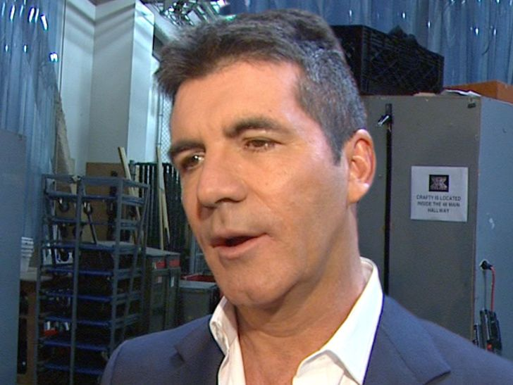 Simon Cowell Rushed to Hospital After Bad Fall