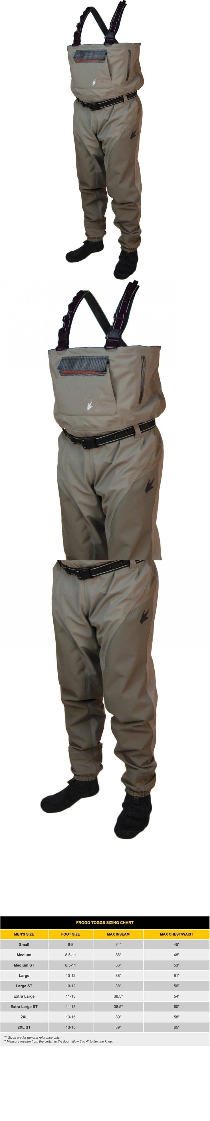 Other Fishing Clothing and Accs 27415: Frogg Toggs Anura Ii Reinforced Nylon Breathable Stockingfoot Wader Fast Ship!!! -> BUY IT NOW ONLY: $155 on eBay!