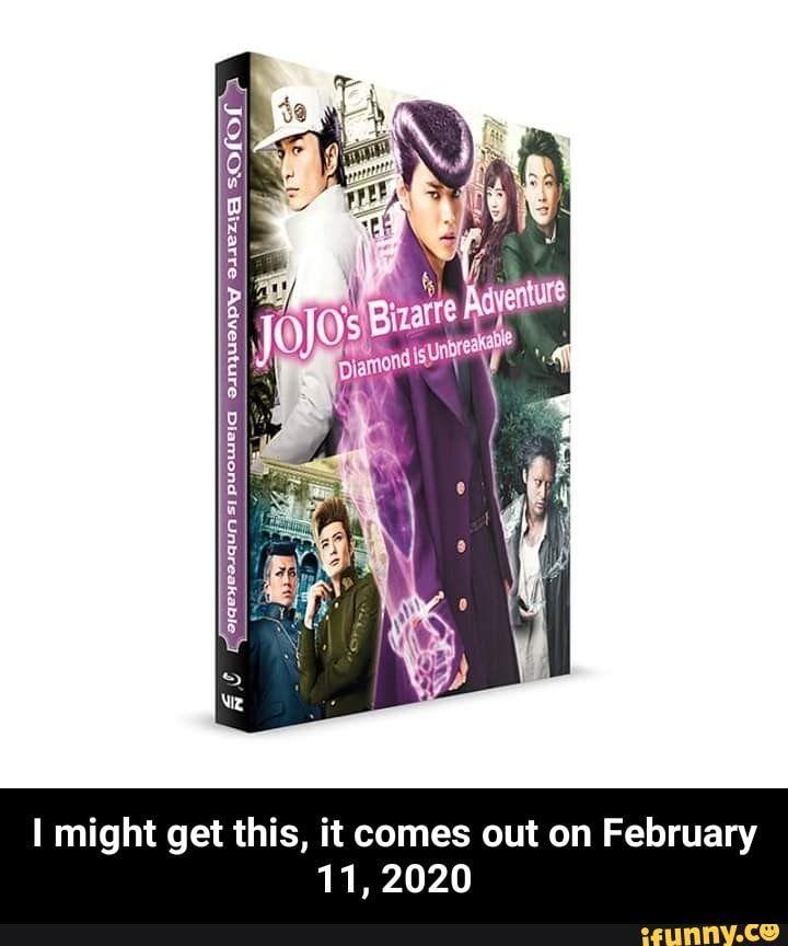 I Might Get This It Comes Out On February 11 2020 I Might Get This It Comes Out On February 11 2020 Ifunny Things To Come Jojo S Bizarre Adventure Jojo Bizzare Adventure