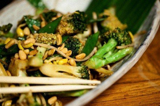Брокколи с проростками соевых бобов рецепт – китайская кухня, постная еда: основные блюда. «Афиша-Еда»