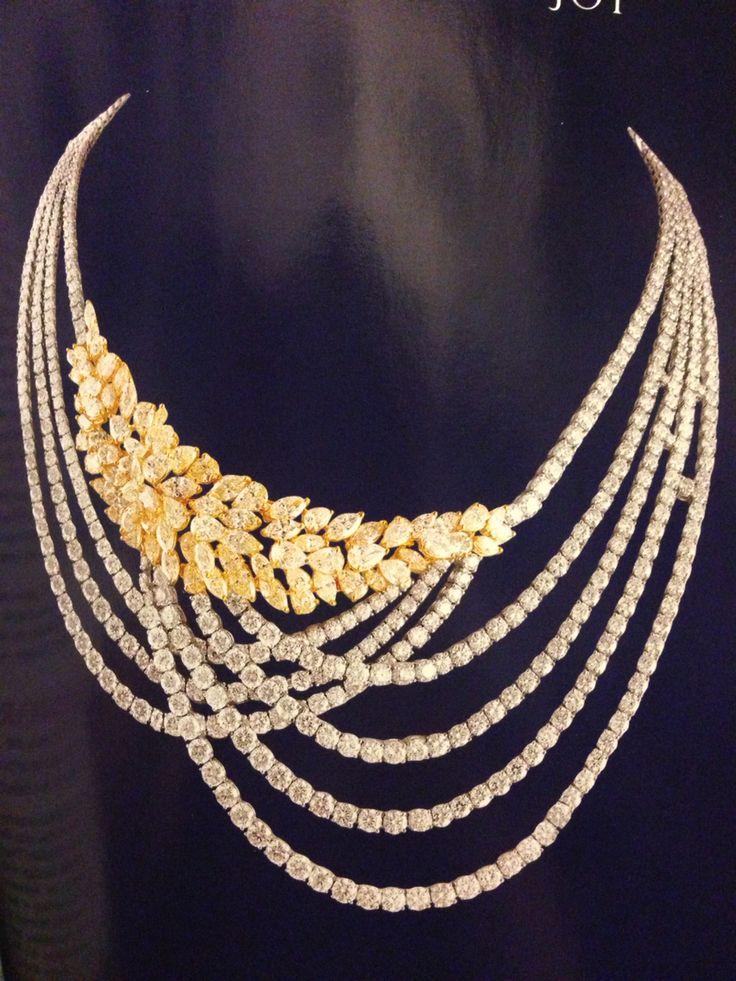 Hazoorilal diamond necklace