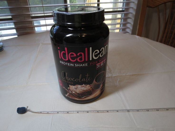 IdealLean Protein Powder Women Chocolate Brownie 20g Whey Protein Isolate 0 carb #Ideallean