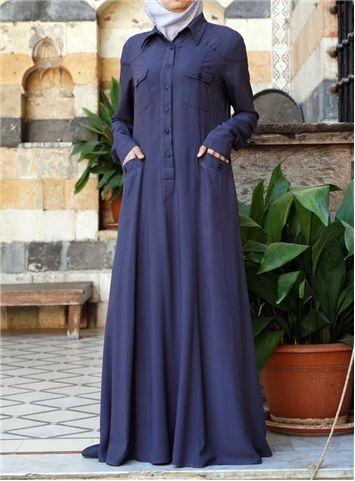 SHUKR International   Leah Shirt Abaya