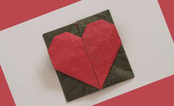 """Origami heart that opens into a box by """"Origami Spirit""""  at:  http://www.origamispirit.com/2012/01/unique-ways-to-keep-romance-alive-%e2%80%93-part-1-of-3/#"""