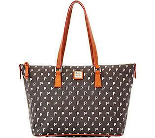 Dooney & Bourke MLB Pirates Zip Top Shopper
