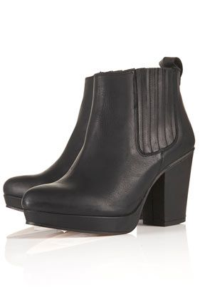 ALEXY Platform Chelsea Boots    I nearly bought these on Saturday, then went for a more practical boot, but now I'm regretting it cause I love how the looked. WHAT SHOULD I DO?!