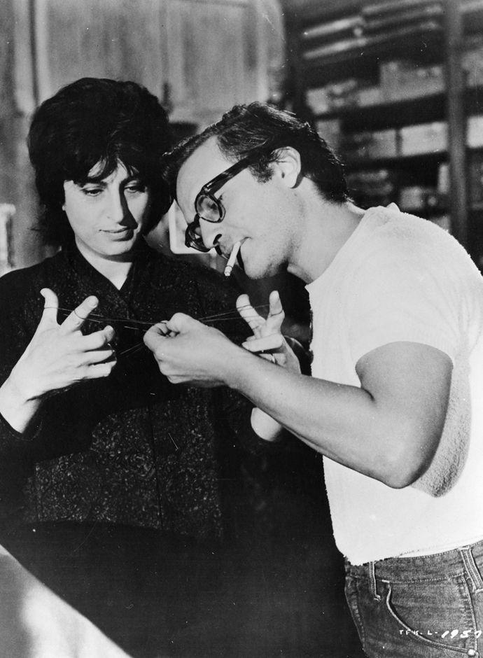 Anna Magnani and Sidney Lumet on the set of The Fugutive Kind, 1959
