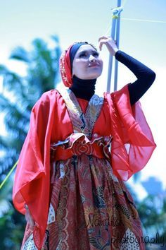 Hijab Batik Dress