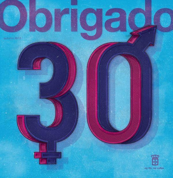 Obrigado Magazine by Daniel Ting Chong, via Behance