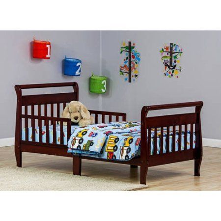 Free 2-day shipping. Buy Dream On Me Sleigh Toddler Bed, Choose Your Finish at Walmart.com