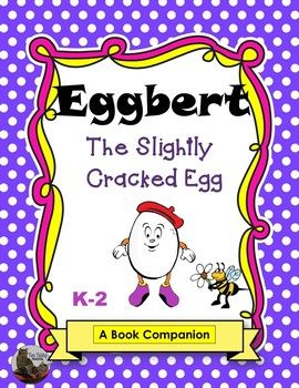 Eggbert the Slightly Cracked Egg is a heart-warming story about being different, wanting to fit in, and self-acceptance. It is written by Tom Ross and illustrated by Rex Barron. I discovered this story a few years back and it has been one of my favorites ever