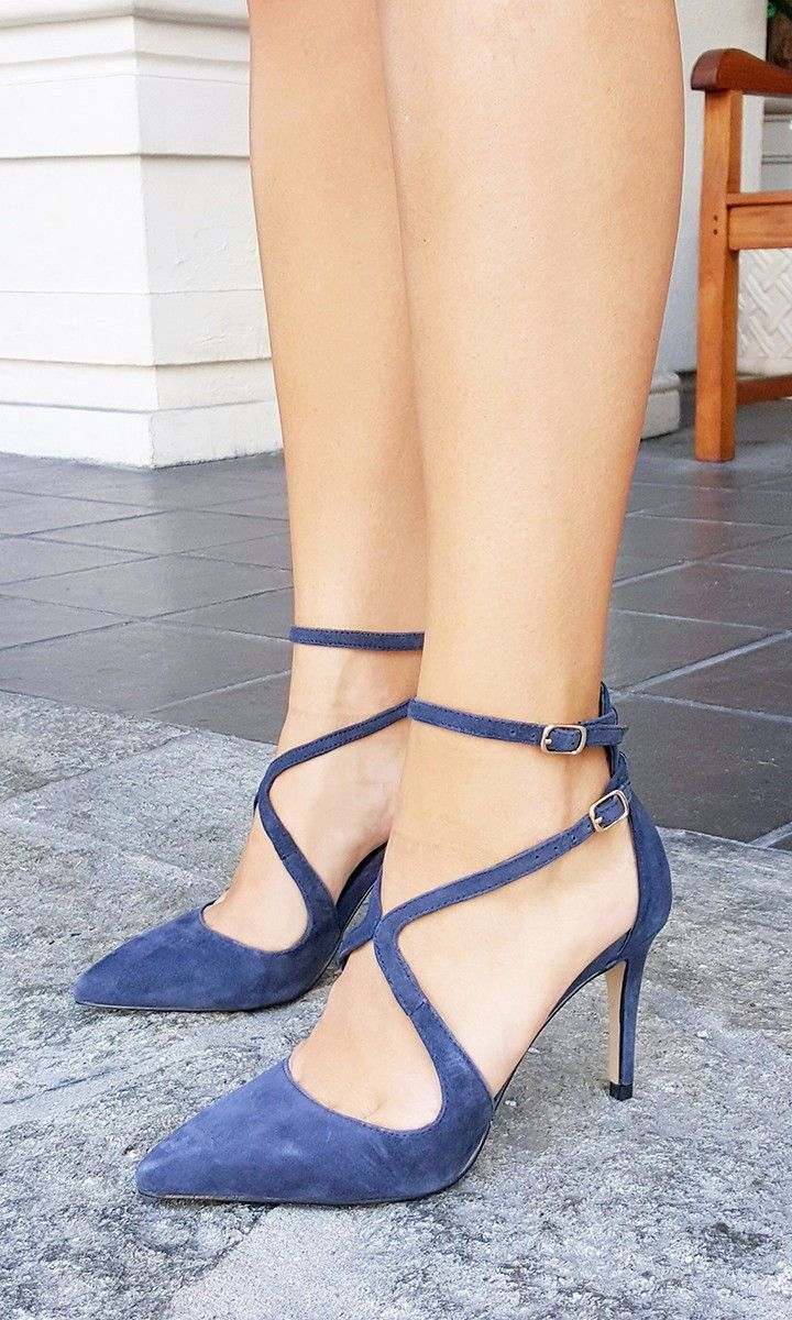 1000  ideas about Navy Strappy High Heels on Pinterest | Striped