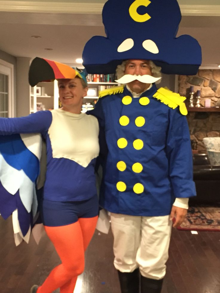 Cereal costumes - Cap'n Crunch and Toucan Sam