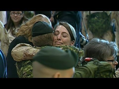 Soldiers surprise homecoming youtube - Welcome Home Soldiers Surprise Homecoming#52 - YouTube
