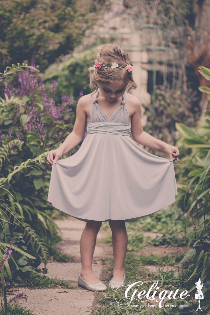 Gelique convertible dress - Flower Girl  http://www.geliqueonline.com/