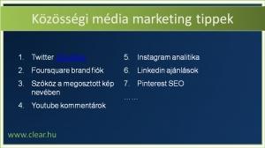 26 alig ismert közösségi média marketing tipp