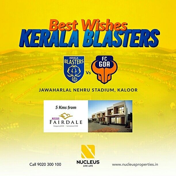 Best wishes to Kerala Blasters for their match against FC Goa.   #KBFC #Football #ISL #Kerala #Kochi #India #LetsFootball #Architecture #Home #City #Elegance #Environment  #Building #Beauty #Beautiful #Exquisite #Interior #Design #Comfort #Luxury #Life #Living #Gorgeous #Style #LifeStyle #Nature #View #Atmosphere #Apartment #Villa