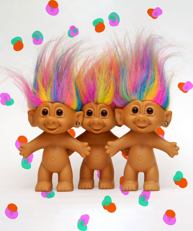 MAC Trolls Makeup Collection | MAC is coming out with a collection in honor of Troll dolls. #refinery29 http://www.refinery29.com/2016/04/108709/mac-trolls-makeup-collection