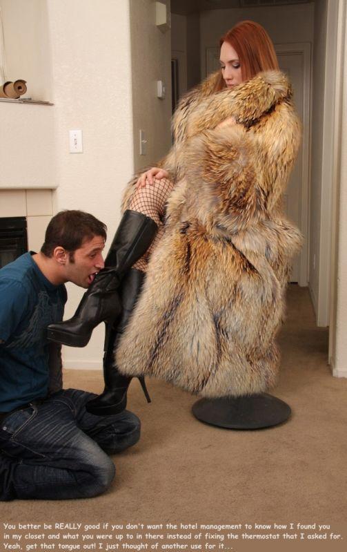 Could Long fur coat fetish gallery salope avec