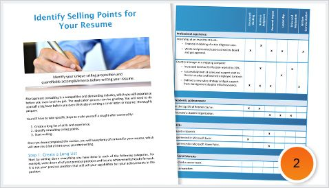 Your Consulting Selling Points
