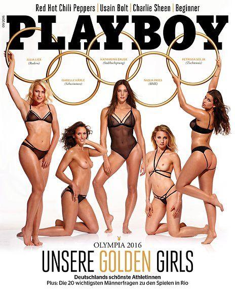 2016 German Playboy Olympians - playboy-cover