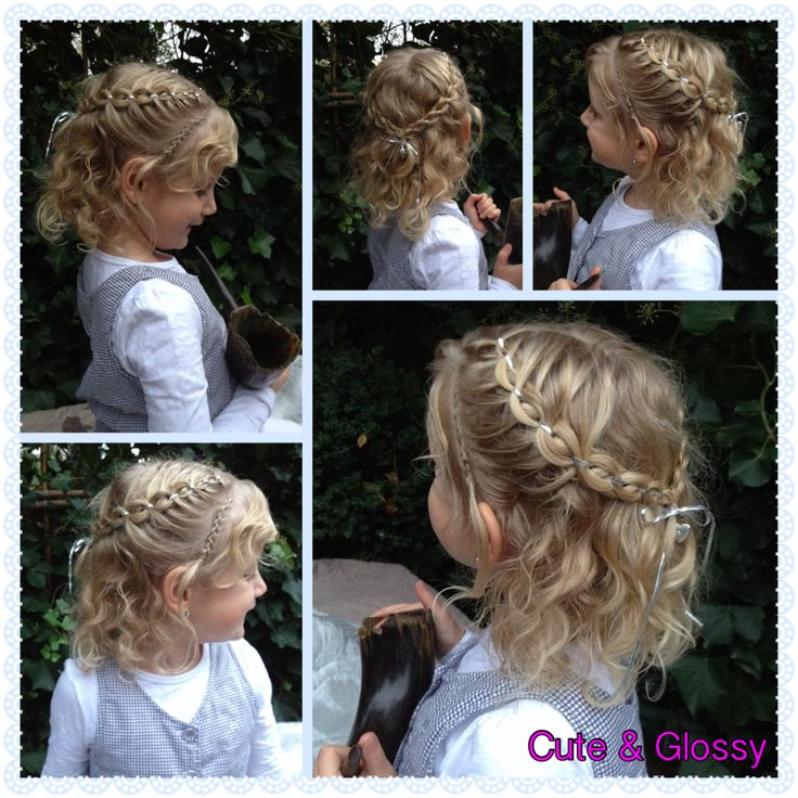 Party creation intricate 5 strand with ribbon Feestkapsel 5 strengen met lint