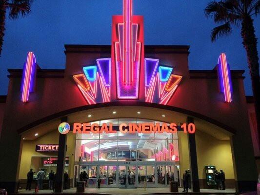 A theater in Modesto California