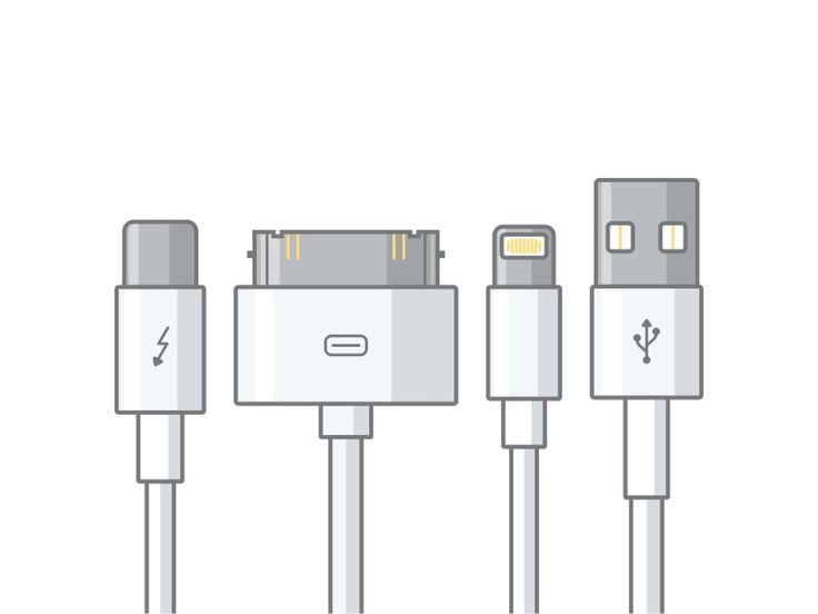 Apple cable by Aleksandar Savic #Design Popular #Dribbble #shots