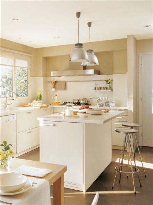Motivos para tener isla en la cocina cocinas decoraci n - Isla cocina pequena ...