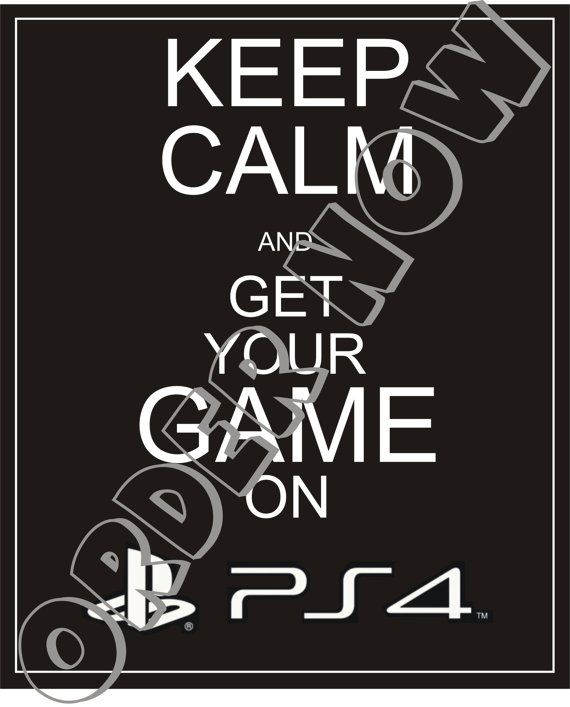 #PS4. Hey, I found this really awesome Etsy listing at https://www.etsy.com/listing/169800829/ps4-keep-calm-diy-printable-iron-on