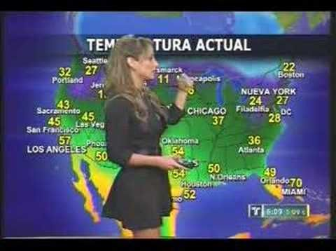 Valentina Avanzi pics | Weather Girl Mary Gamarra