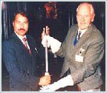 #sword of #honour for P Mohamed ali by #british #government. Source: bit.ly/1JQMs0l