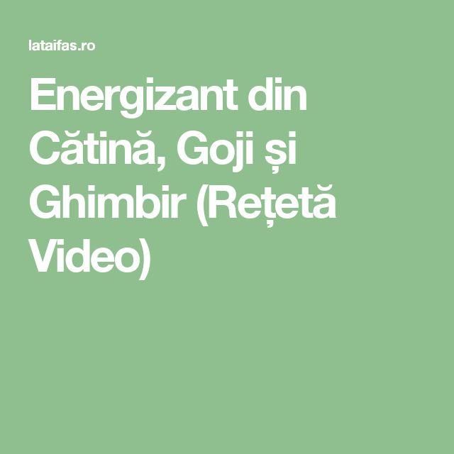 Energizant din Cătină, Goji și Ghimbir (Rețetă Video)