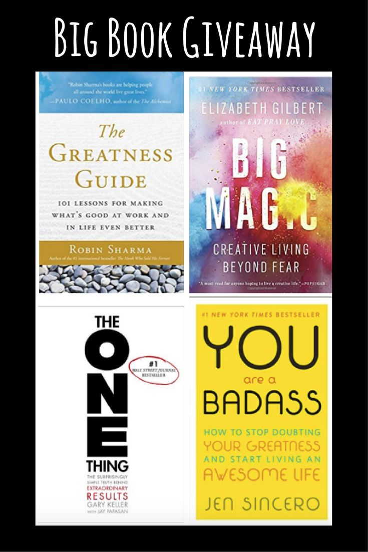 Big Book Giveaway. win a bundle of four books about Success, Productivity & Creativity. Enter here > http://thesavvysolopreneur.net/giveaway/book-giveaway/