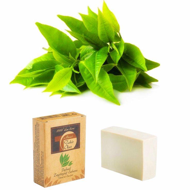 Laurel Olive Oil Soap & Defneli Zeytinyağ Sabunu