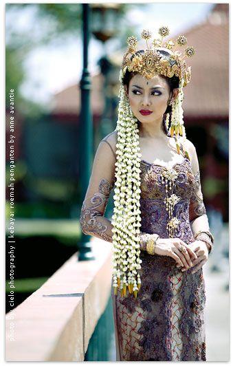 Pakaian Menikah Sunda Sundanese Traditional Bridal Costume