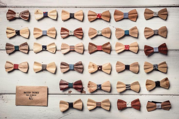 Raissa Chineo. Italian Handmade Wooden Bowties!!! https://www.facebook.com/raissachineo/