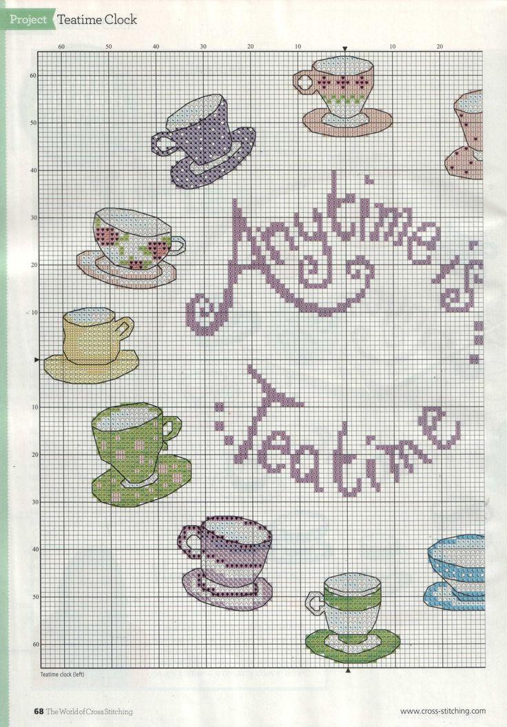 Sticken Kreuzstich - cross stitch - free pattern <3 PART 1