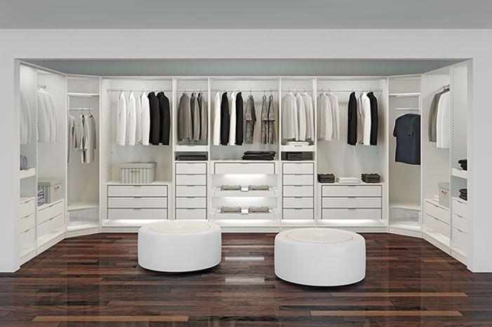 Begehbarer Kleiderschrank Inspiration