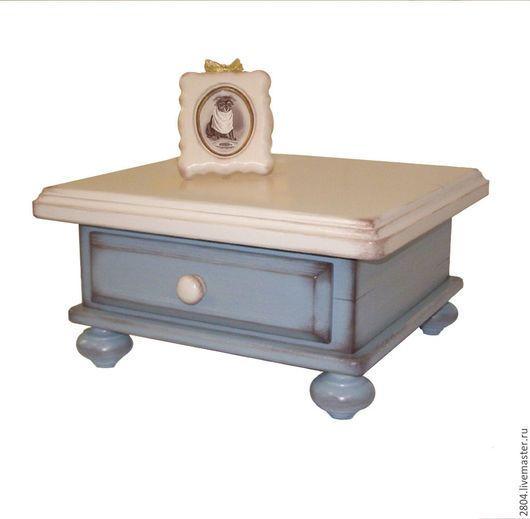 Аксессуары для собак, ручной работы. Заказать Подставка под миски Мебель для собак. Светлана. Мебель в стиле 'ПРОВАНС'. Ярмарка Мастеров.