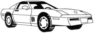 how to draw a corvette stingray step by step